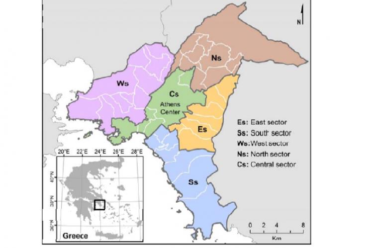 Association of Socio-Environmental Determinants with Diabetes Prevalence in the Athens Metropolitan Area, Greece: A Spatial Analysis